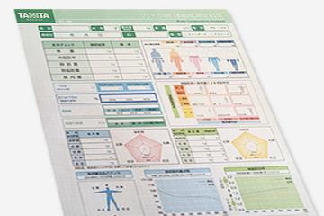 「体組成計」で測定したデータ